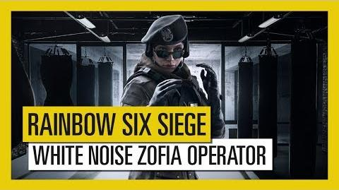 Tom Clancy's Rainbow Six Siege - White Noise Zofia Operator