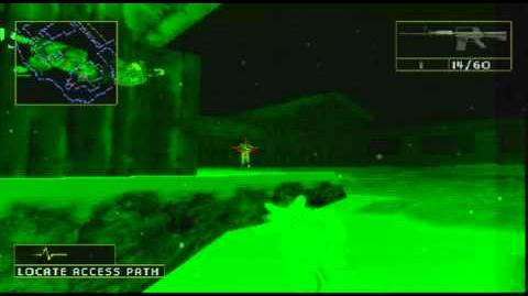 Rainbow Six Lone Wolf PS1 Gameplay Mission 1 - Operation Arctic Phoenix