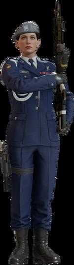 Zofia Duch Bojowy Uniform