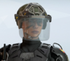 Mira Crash Armadillo Headgear