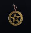 Service Badge Charm