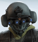 Bandit Shadow Brine Headgear