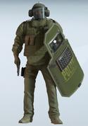 Blitz Raid Ram Uniform