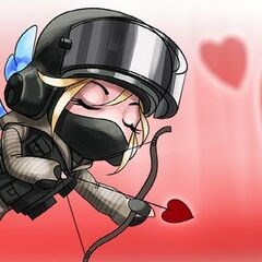 Official Valentine's Day art of IQ