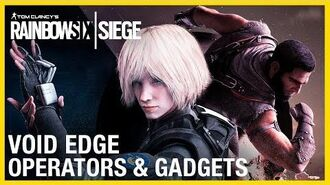 Rainbow Six Siege Void Edge Operators Gameplay Gadgets and Starter Tips Ubisoft NA