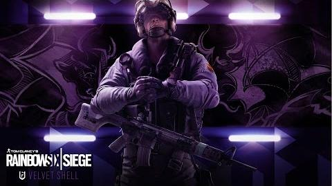 Tom Clancy's Rainbow Six Siege - Velvet Shell Jackal operator