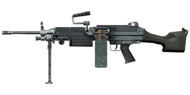 Weapon M249