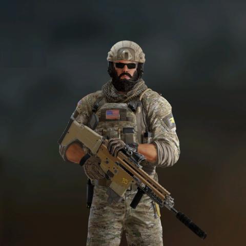 Blackbeard armed with <a href=