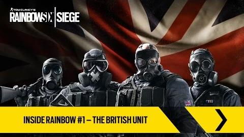 Tom Clancy's Rainbow Six Siege Official - Inside Rainbow -1 – The British Unit -UK-