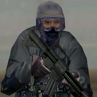 ---Black Medium Suit--- <br />This uniform is provides a good blend of protection and ease of movement. The standart uniform for assaulters on nighttime operations, it consists of a Level II waist-length tactical vest, a Kevlar Helmet, soft-soled rubber boots, Nomex balaclava,and Nomex/Kevlar gloves. The vest reliably stops most pistol and submachine gun rounds.