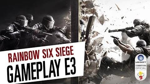 Rainbow Six Siege - Gameplay da E3 de 2014 Legendado