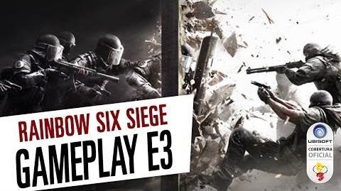 Rainbow Six Siege - Gameplay da E3 de 2014 Legendado