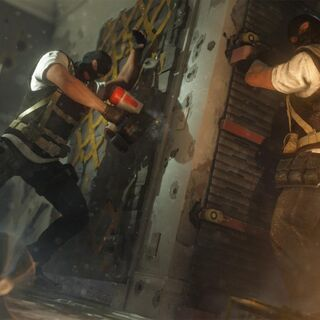 Promotional image depicting a Reinforced Wall during the Pre-Alpha