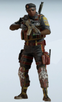 Capitao Volcanic Rock Uniform