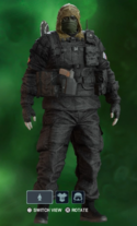 Kapkan Dead of Night Uniform