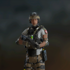 Lesion armed with SIX12 SD (Post-Blood Orchid)