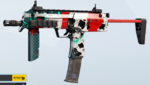 Blackjack MP7 Skin