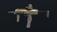 Gold Dust MP7 Skin