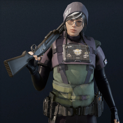 Dokkaebi armed with a <a href=