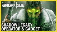 Rainbow Six Siege Shadow Legacy Operator Gameplay Gadget and Starter Tips Ubisoft NA