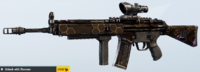 Black Widow AR33 Skin