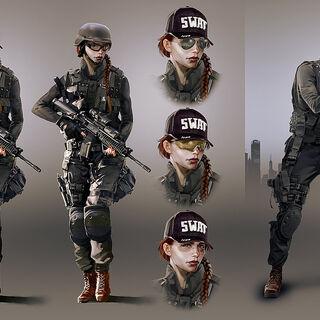 Ash's concept art