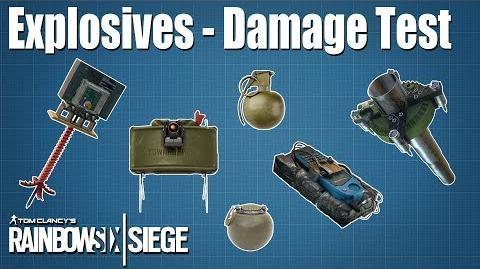 Explosives Test & Comparison