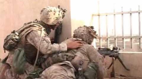 Combat footage of US Marines in Fallujah, Iraq -Music Video-