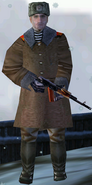 Russian Soldier Majestic Gold