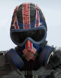 Mute Union Jack Headgear