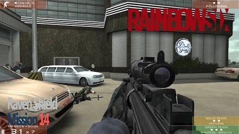 Tom Clancy's Rainbow Six Raven Shield Mission 14 - Operation Whisper Blade