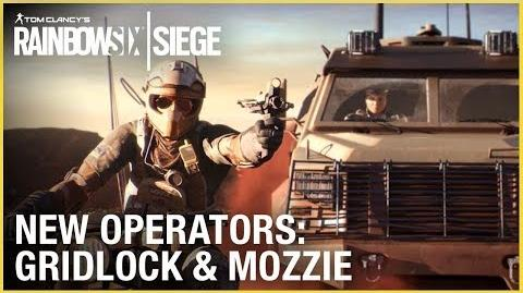 Rainbow Six Siege Operation Burnt Horizon – Gridlock & Mozzie Trailer Ubisoft NA
