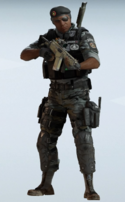 Capitao Gang Breaker Uniform