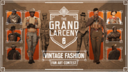Vintage Fashion Fanart Contest