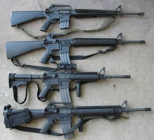 M16 Variants IRL
