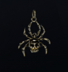 Gold Widow Charm