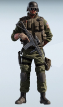 Thermite Paramilitary Uniform