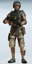 Lesion Scorch Mineral Uniform