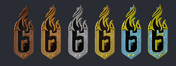 Dust Line Ranked Charms