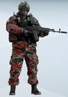 Fuze Furtive Bauxite Uniform