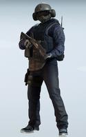 Jager Sky Marshal Uniform