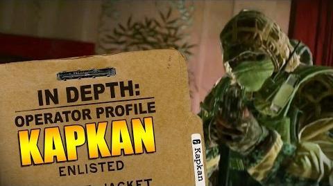 Rainbow Six Siege - Operator Profile Kapkan