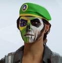 Caveira Brasil Headgear