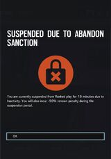 Abandon Penalty