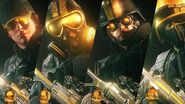 Gold Pro League headgears