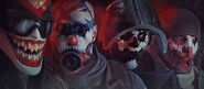 Headgear Bundle - Scary Clown