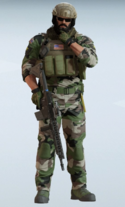 Blackbeard Kapok Uniform