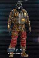 Mute Padded Chassis Uniform