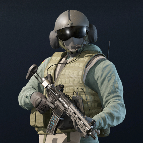 Jäger armed with a <a href=