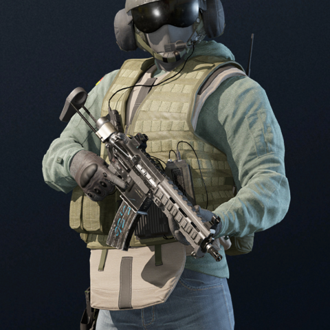 Jäger armed with <a href=